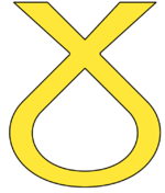 Scottish National Party Ribbon.png