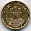 One pound coin (Gibraltar) reverse.png