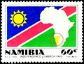 Namibia independence stamp 1990.jpg