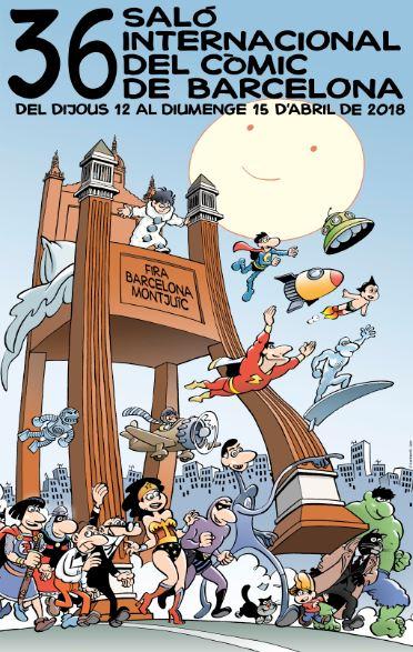 Resultat d'imatges de salo del còmic 2018