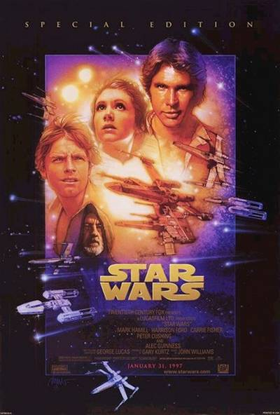 Cartell de Star Wars Episode IV: Una nova esperança