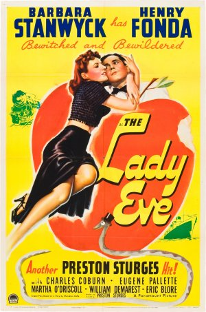 Poster de la pel·lícula de Preston Sturges The Lady Eve