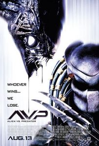 Cartell d'Alien vs. Predator (2004)