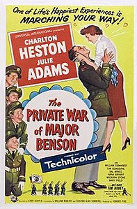 Poster of The Private War of Major Benson.jpg