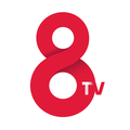 Logotip actual de 8tv