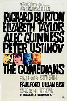 Original movie poster for the film The Comedians.jpg