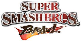 Super Smash Bros. Brawl logo.