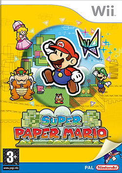 Box art for Super Paper Mario