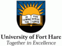 Logo de la Universitat de Fort Hare