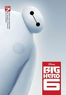 A big white round health robot assistant.