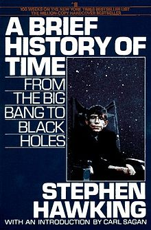 A Brief History of Time written by Stephen Hawking.jpg