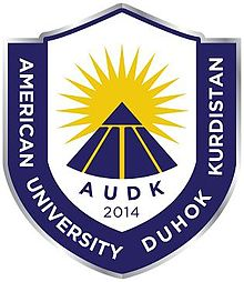 Logo of the American University in Duhok - Kurdistan.jpg