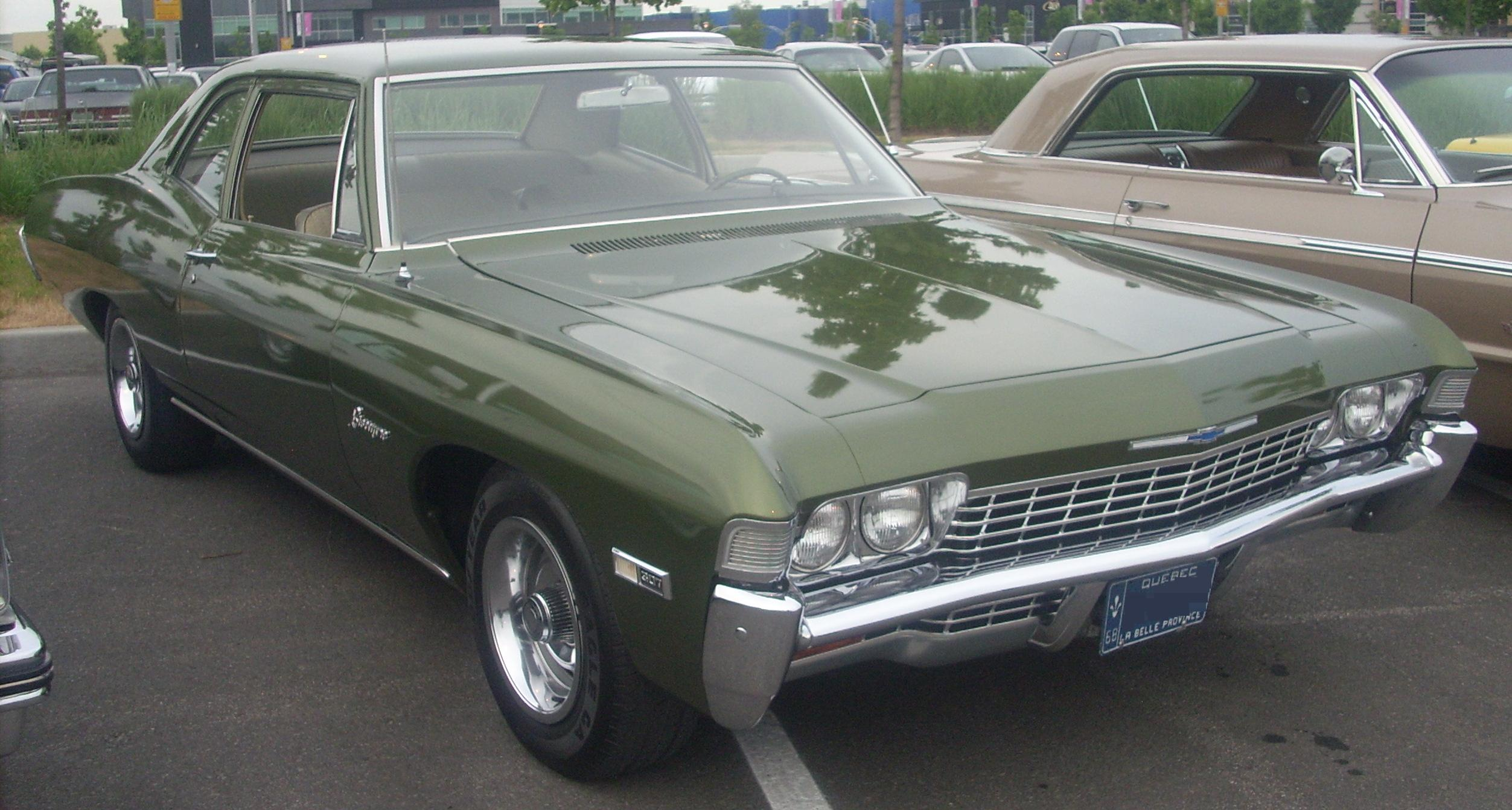 1968 Chevrolet Biscayne %2768_Chevrolet_Biscayne_Coupe_%28Centropolis_Laval_%2710%29