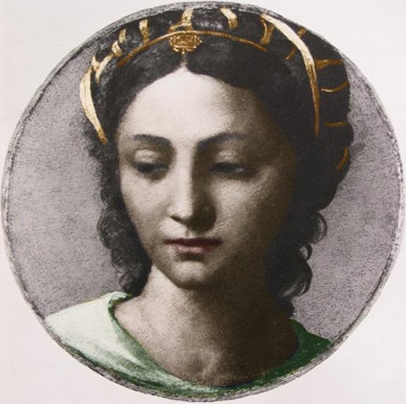 Bona Sforza w wieku 23 lat, Sebastiano del Piombo