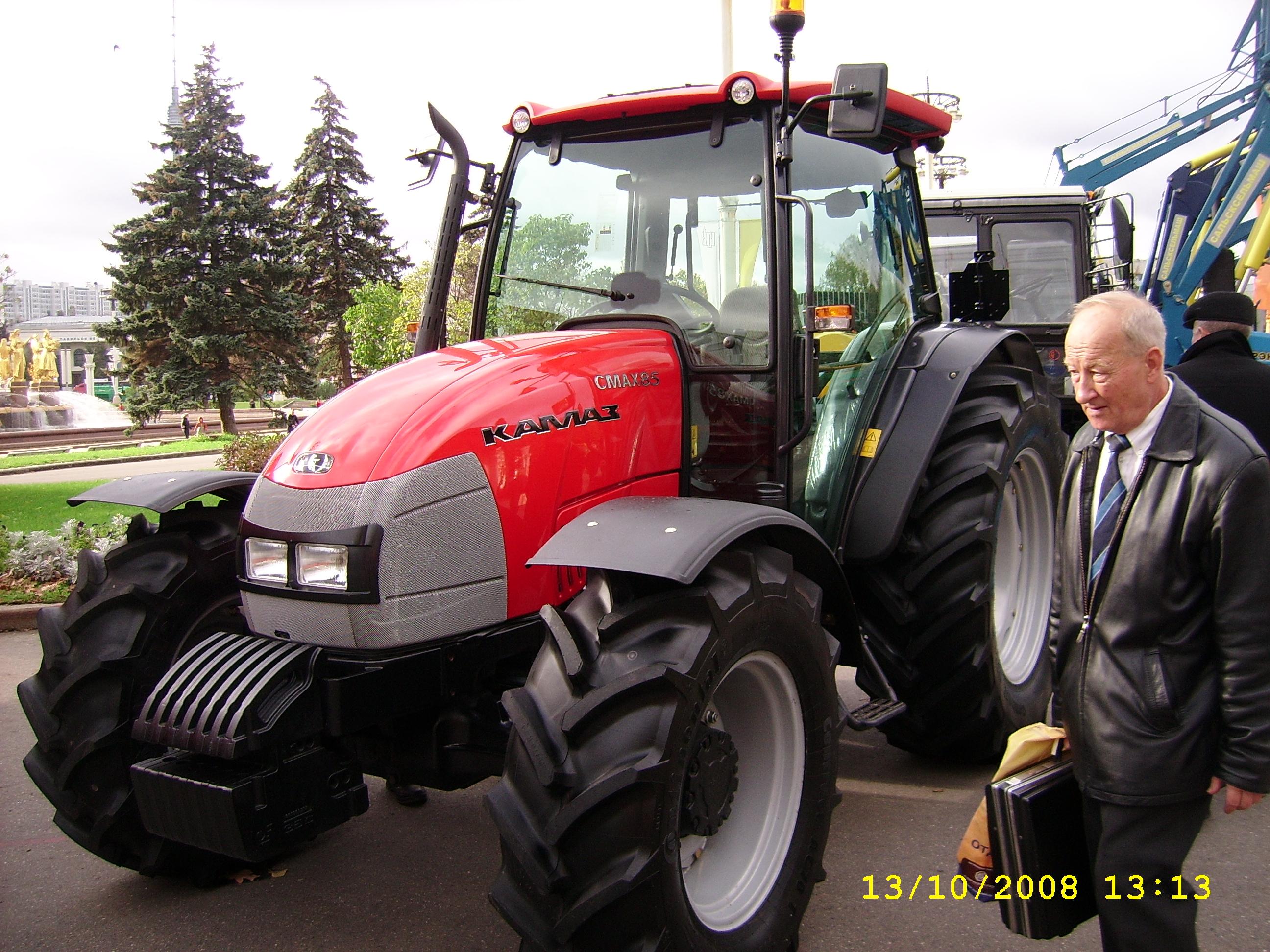 трактор фото камаз