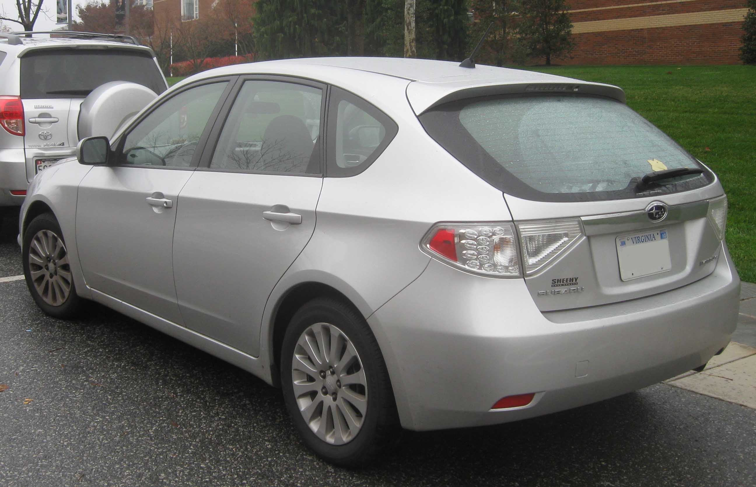 file:08 subaru impreza 2.5i hatch rear - wikimedia commons