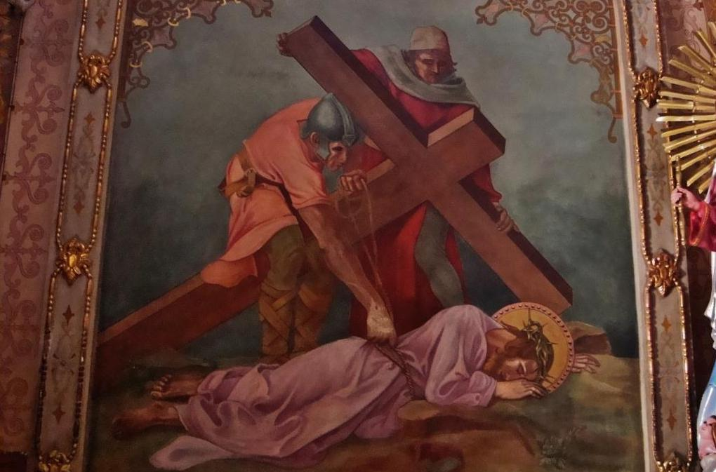 an examination of the art station ix jesus falls a third time In station ix, the third time christ falls on but what is most challenging about gill's fall from grace is that it's time to stop using the art form to.