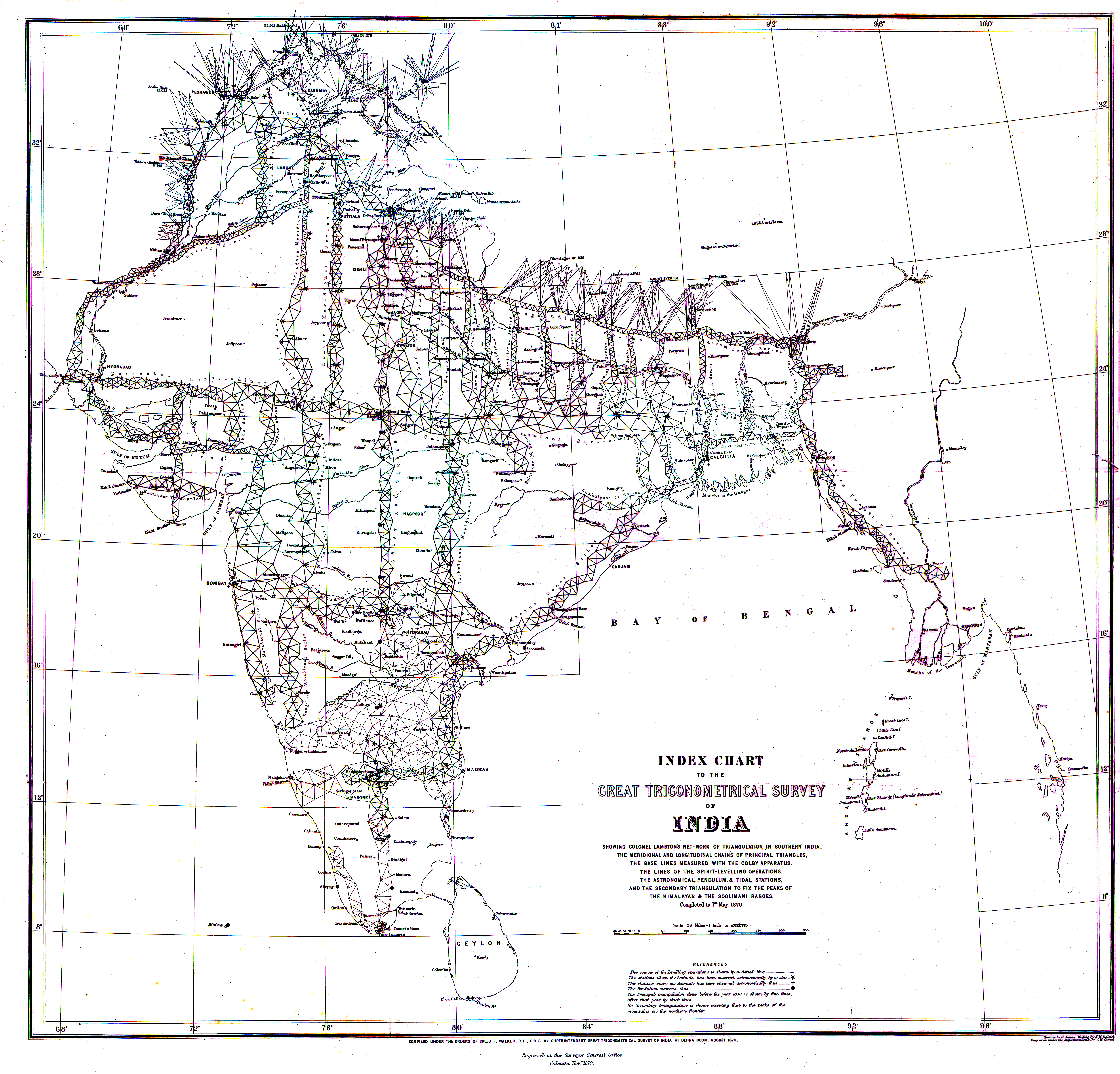 Trig Chart Degrees: 1870 Index Chart to GTS India-1.jpg - Wikimedia Commons,Chart