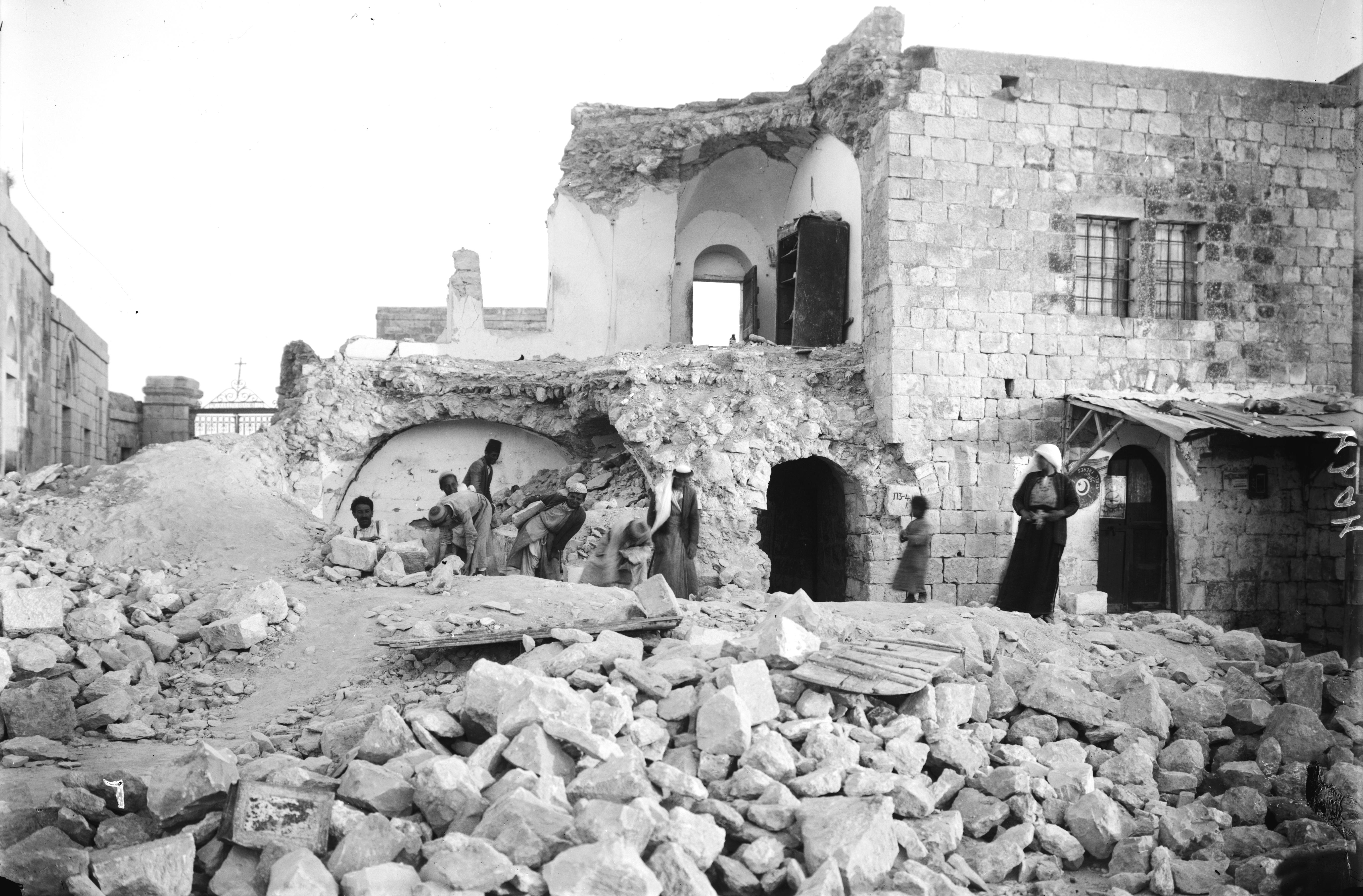 רעידת אדמה בישראל: File:1927 Earthquake OliveMount.jpg