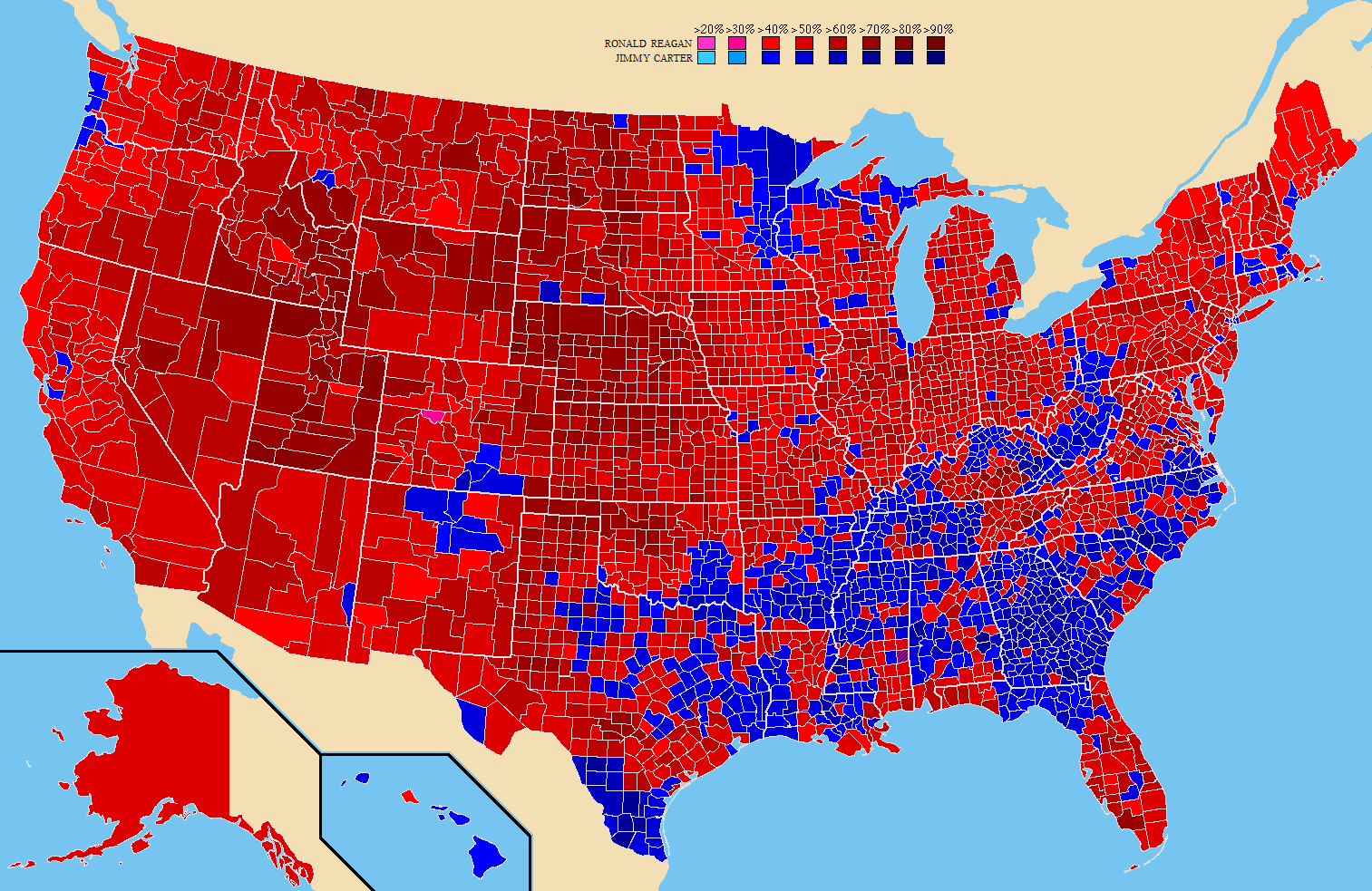 an analysis of the election of 1980 in united states United states presidential election of 1980, american presidential election held  on nov 4, 1980, in which republican ronald reagan defeated incumbent.