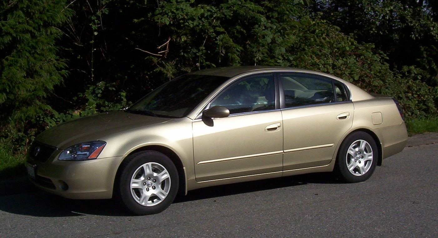 Nissan Altima 2.5S >> File:2002 Nissan Altima 2.5S exterior drivers side view.jpg