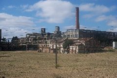 2007 08 Uruguay - Fray Bentos - Anglo Factory - Old Area.JPG