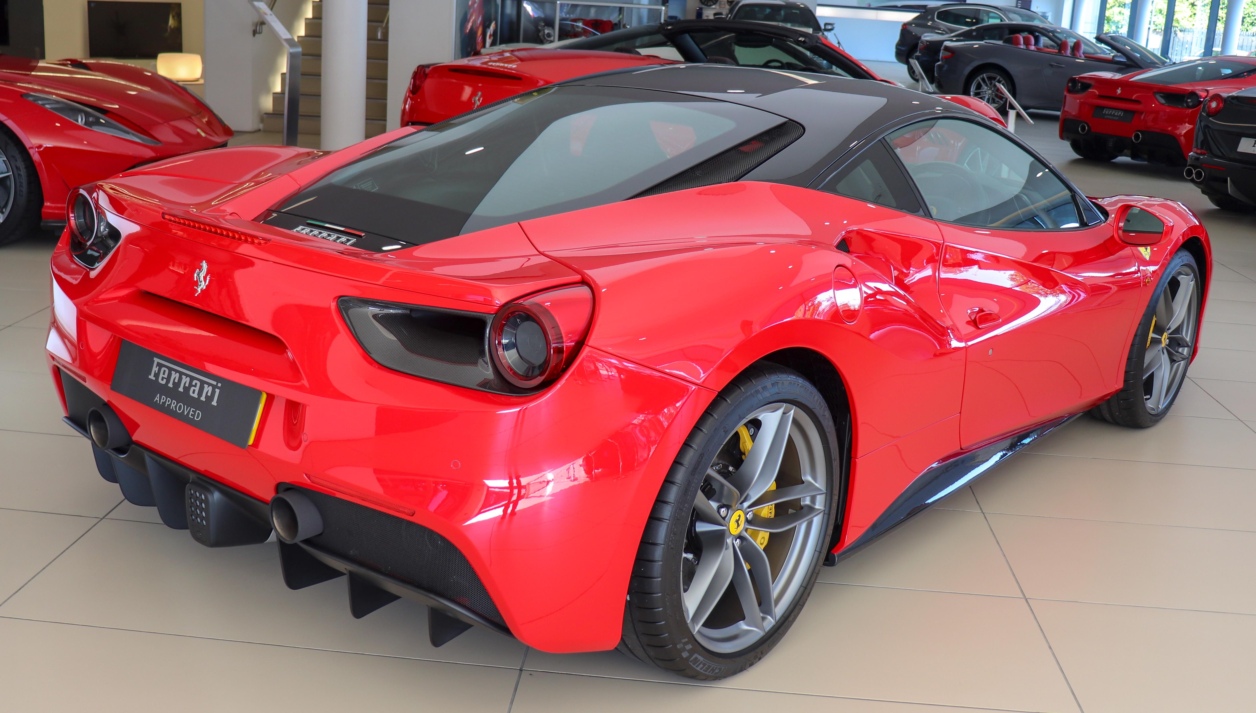 File 2017 Ferrari 488 Gtb Automatic 3 9 Rear Jpg Wikipedia