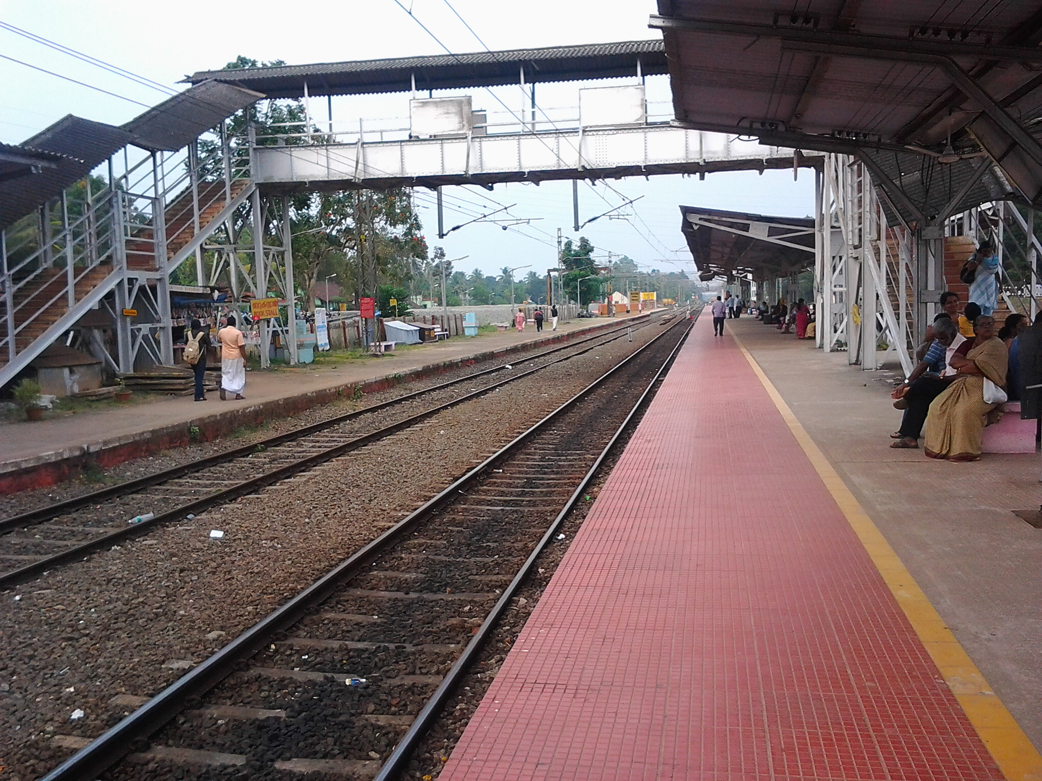 Indian essay railway station