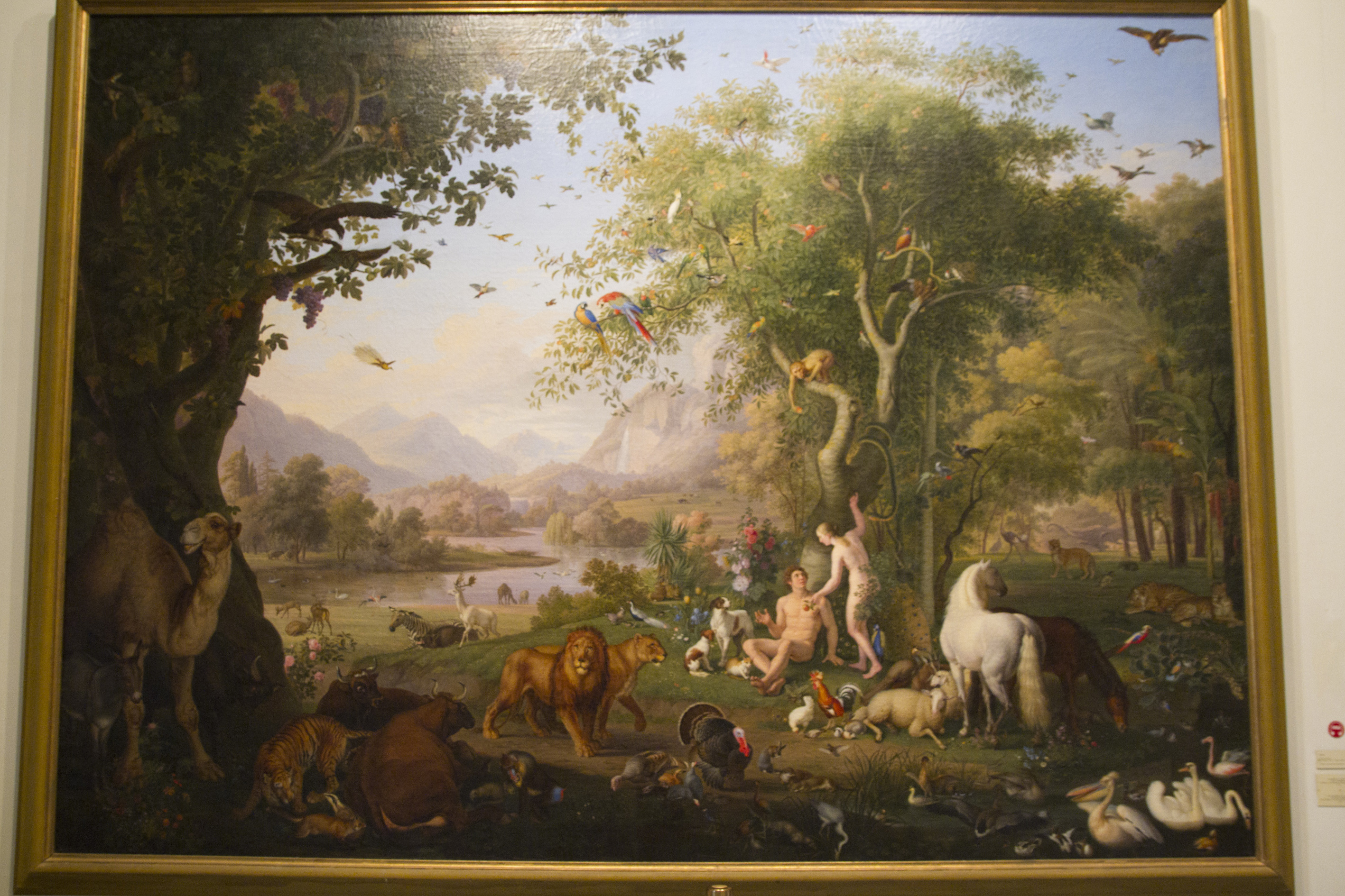 File:Adam and Eve in the Garden of Eden, by Peter Wenzel - panoramio ...