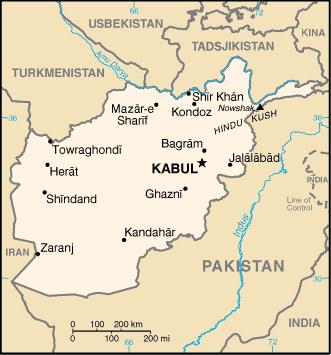 kart over afghanistan Liste over byer i Afghanistan – Wikipedia kart over afghanistan