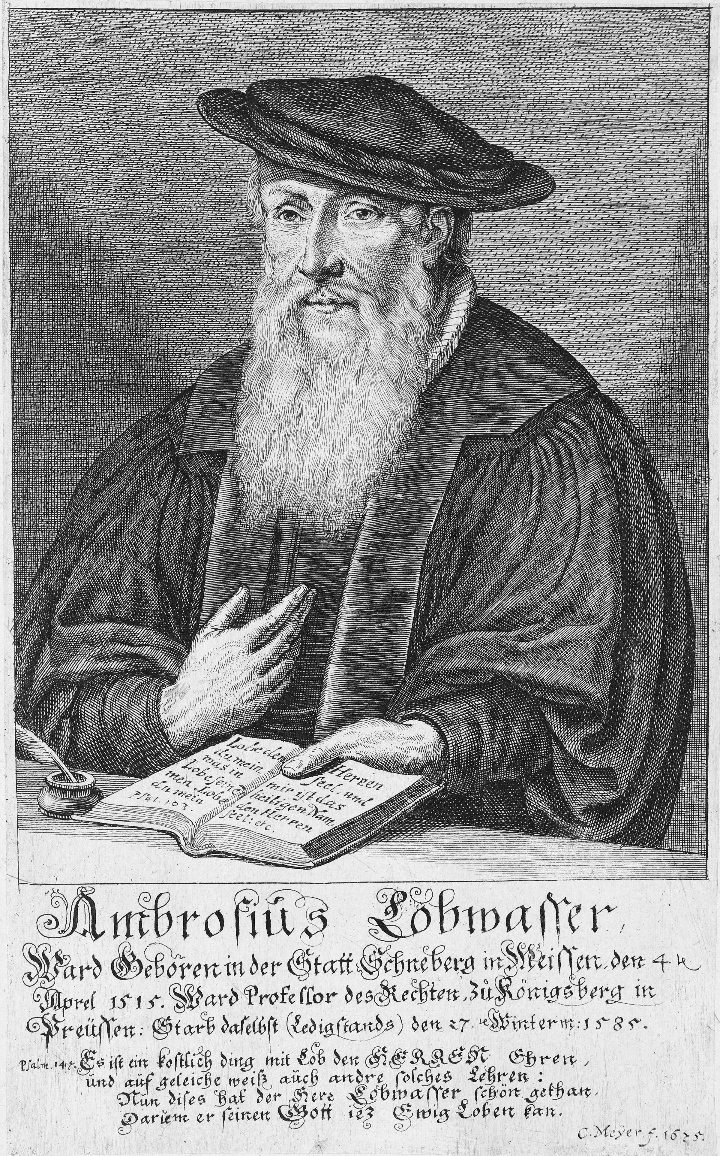 Ambrosius Lobwasser