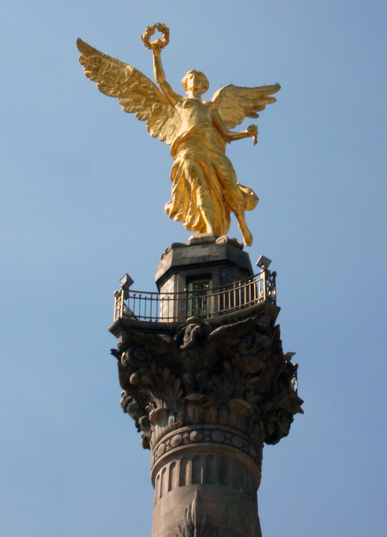 Description Angel De La Independencia Mexico D F