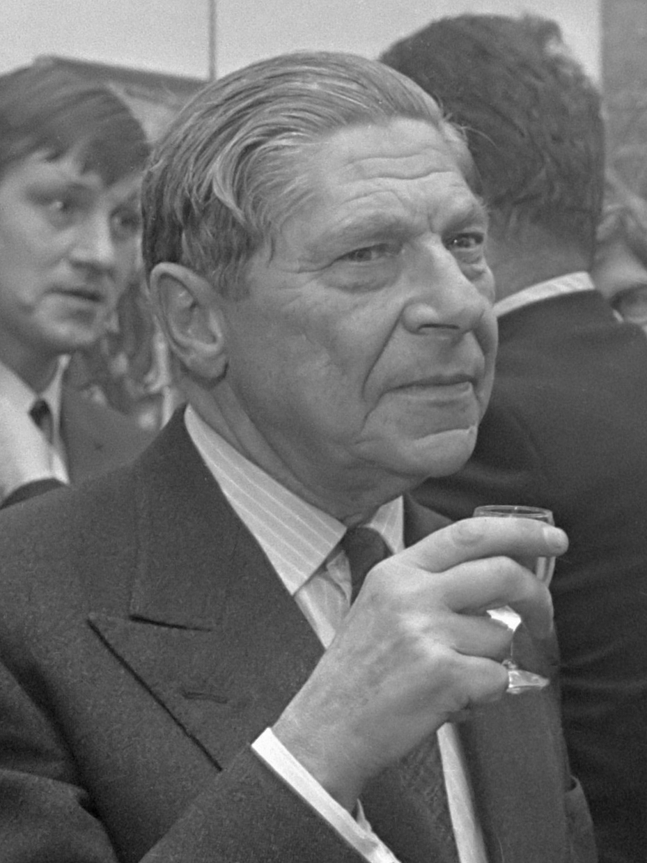 Portrait of Arthur Koestler