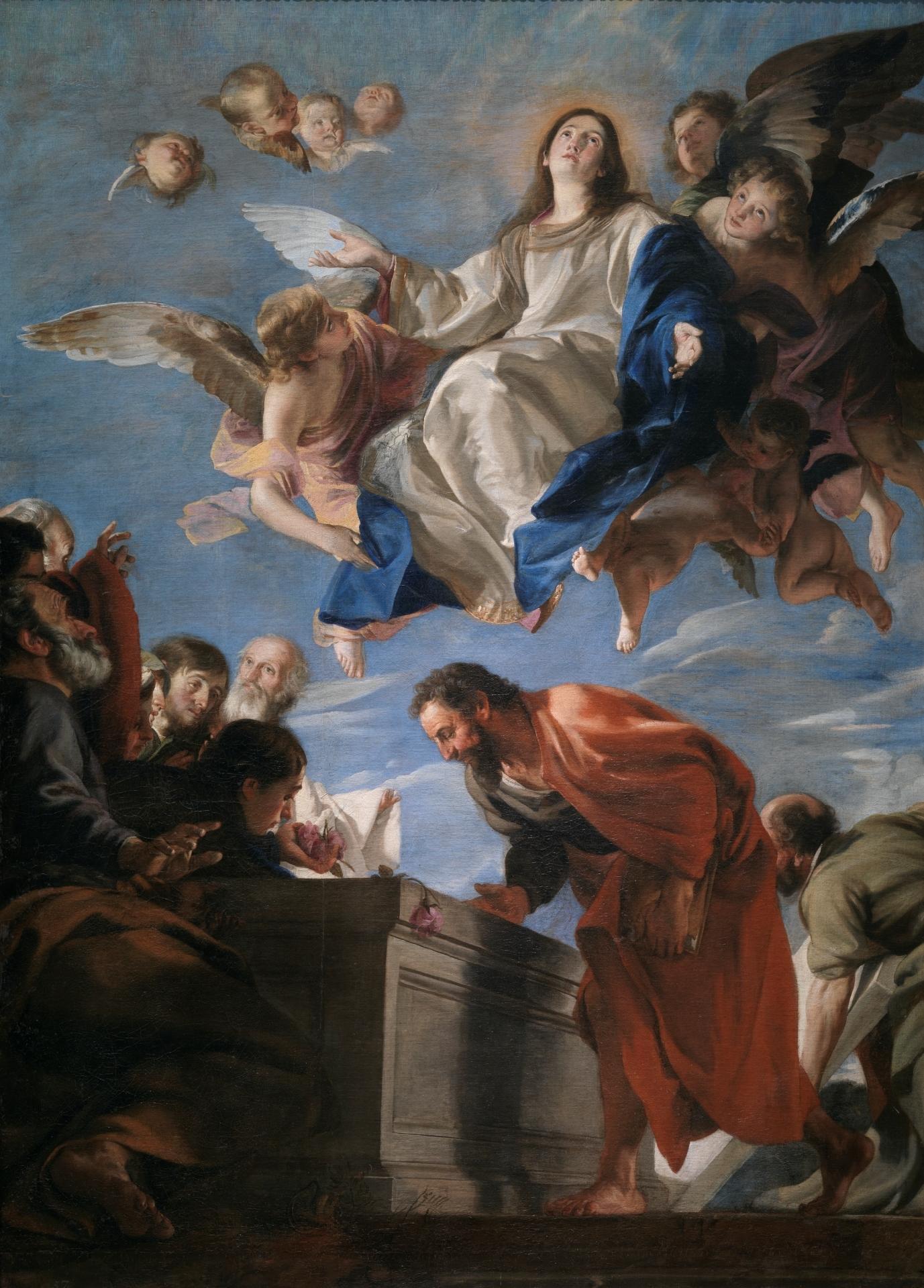 """The Assumption of the Virgin,"" by Juan Martin Cabezalero, c. 1665"