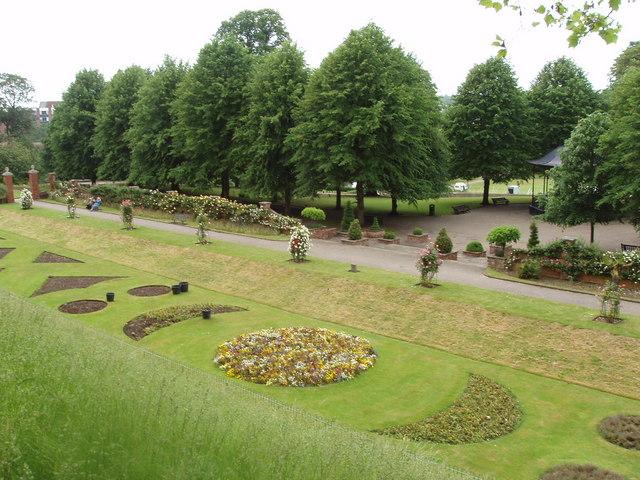 Avignon garden, Colchester castle park - geograph.org.uk - 188764