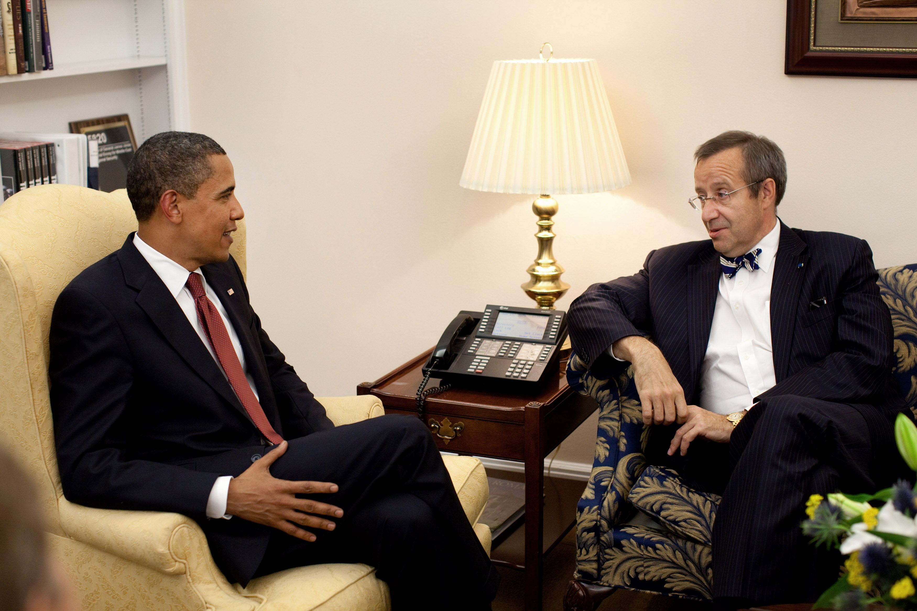 Obama To Meet With Estonian President Ilves and Baltic Leaders in September