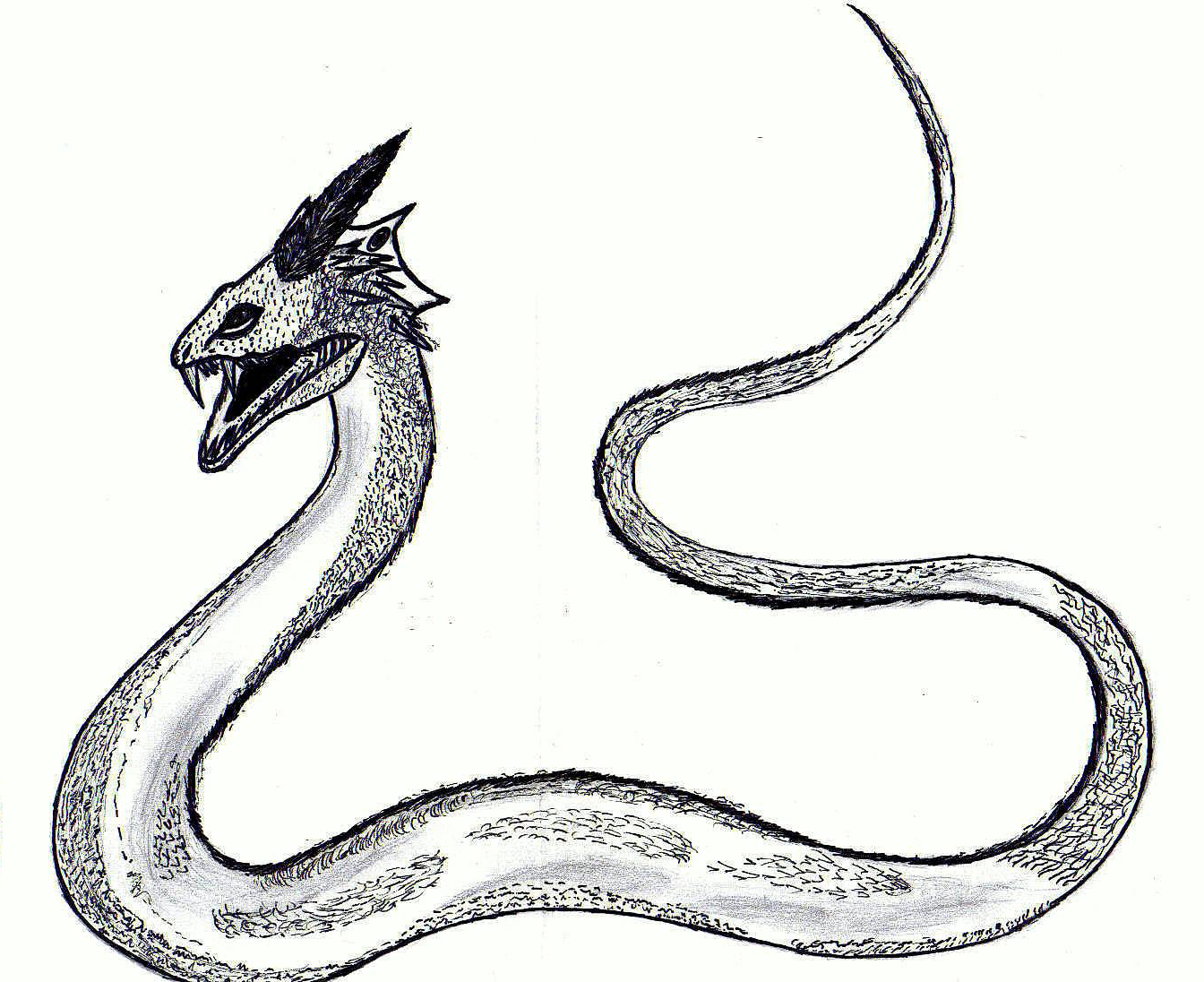 The gallery for --> Chamber Of Secrets Basilisk Drawing