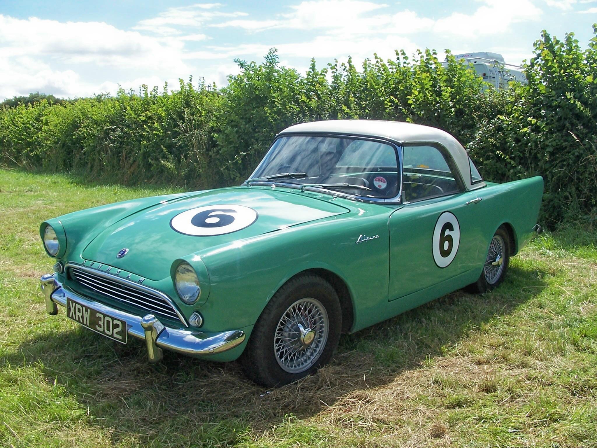 File Bernard Unett S First Racing Car Sunbeam Alpine Xrw
