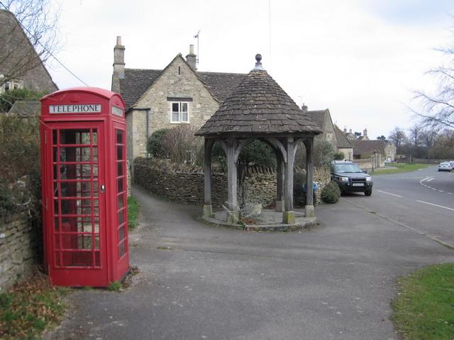 Biddestone Village Wellhouse - geograph.org.uk - 515521