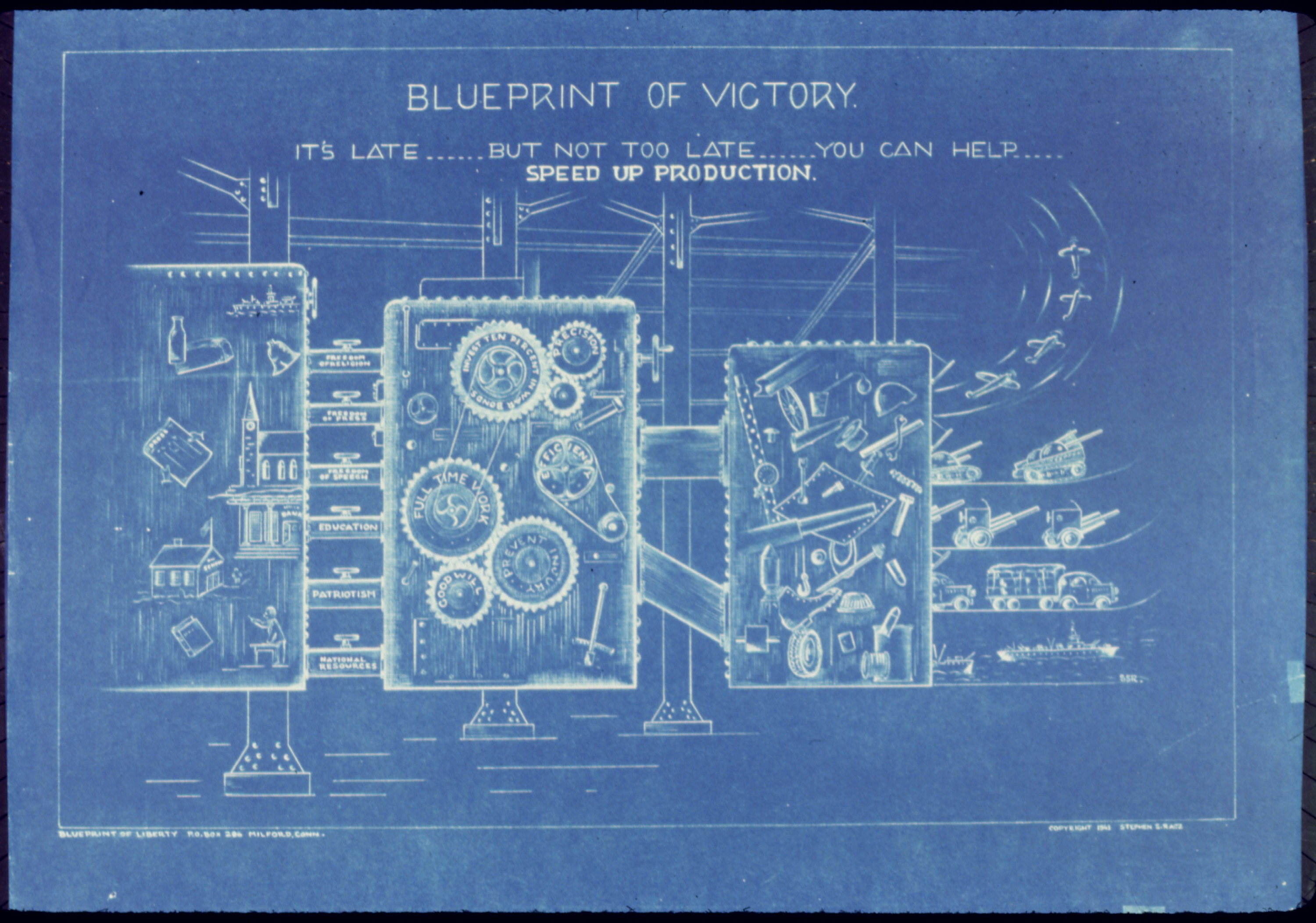 what is blue print