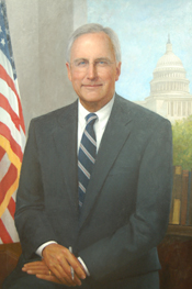 Official Congressional portrait of Bob Livingston.