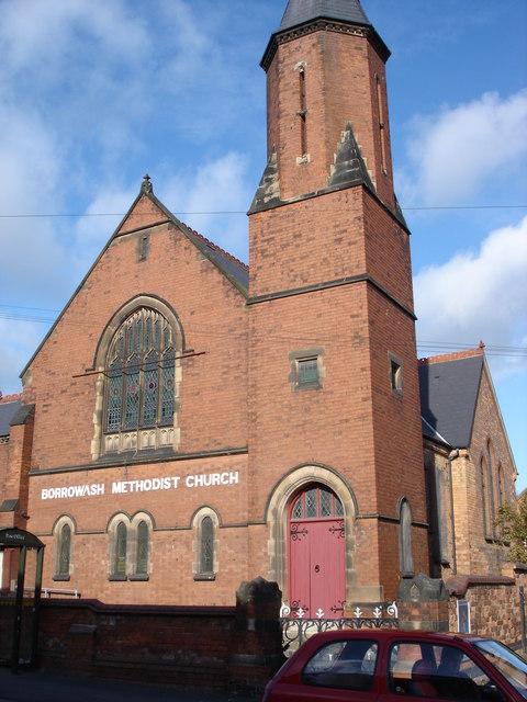 Borrowash Methodist Church - Wikipedia