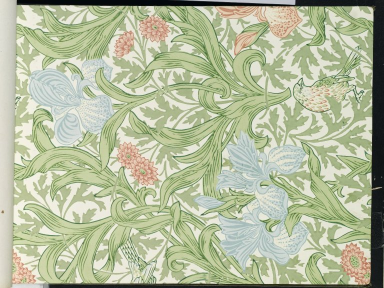 File:Brooklyn Museum  Wallpaper Sample Book 1  William Morris and Company  page050.jpg