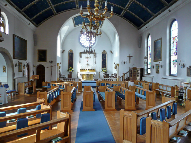 Burrswood church interior - geograph.org.uk - 807603