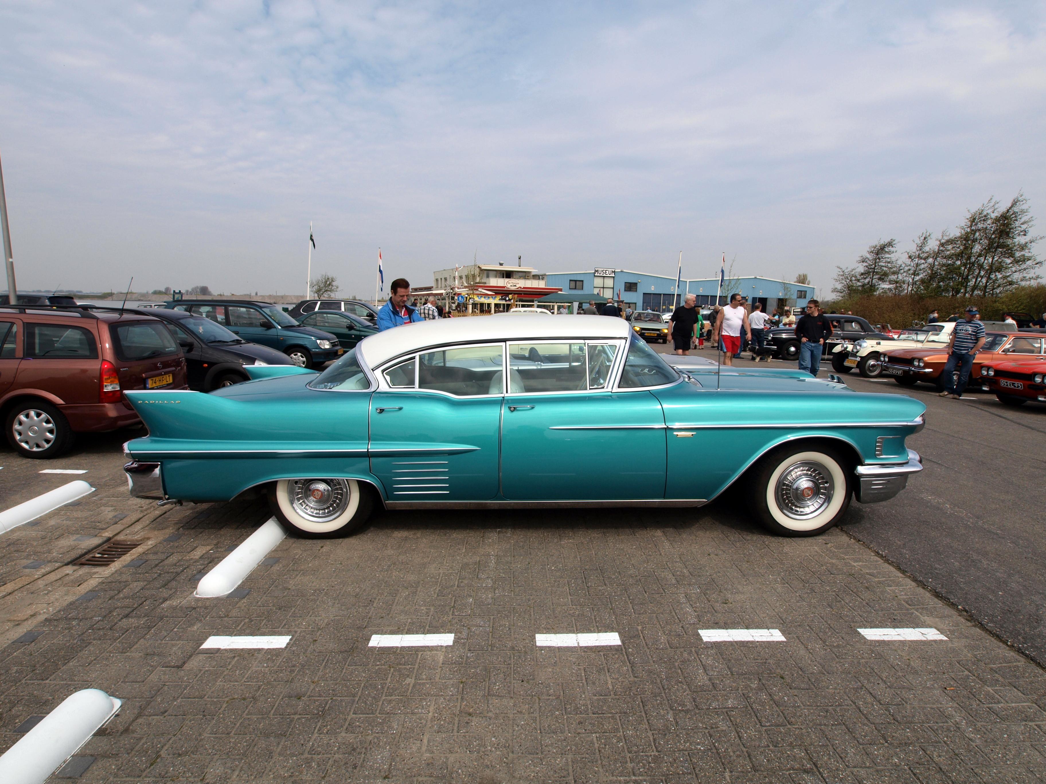 File Cadillac Sedan De Ville 1958 Dutch Licence