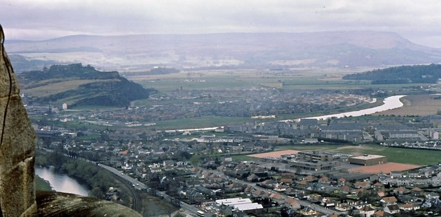 Causewayhead from the Wallace Monument - geograph.org.uk - 879238