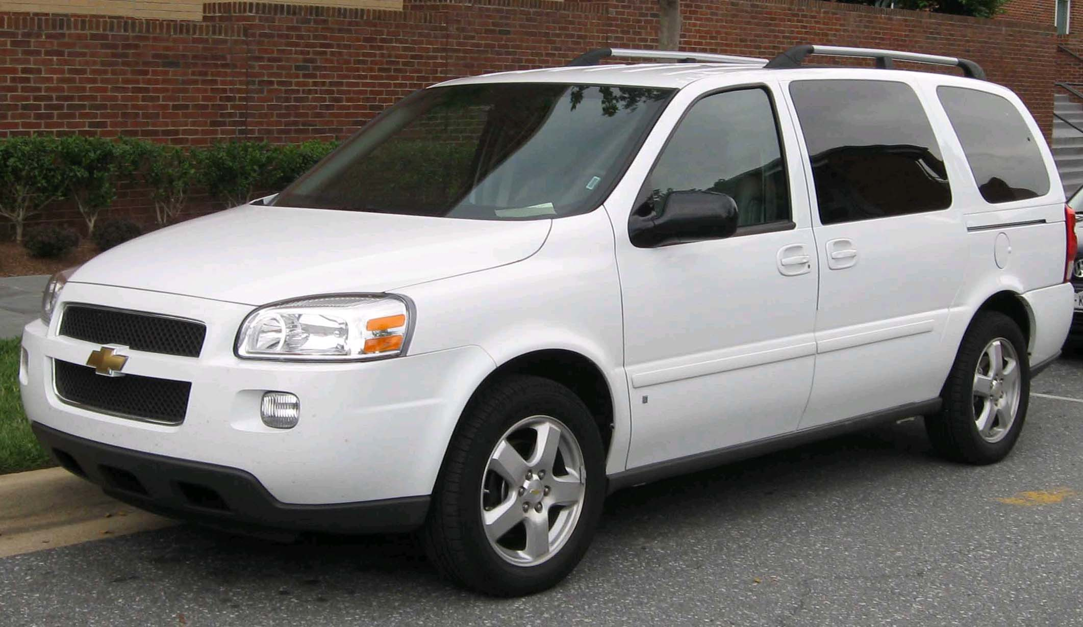 Thread: Should Chevy make another minivan?