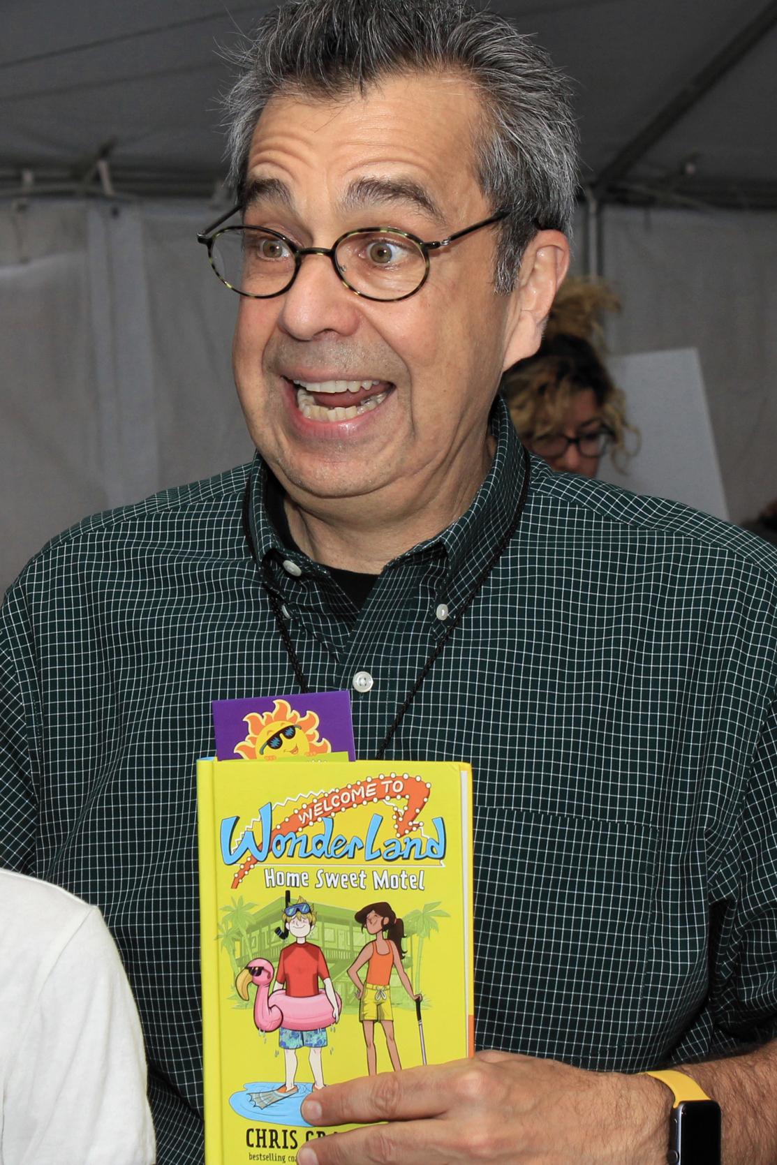 Grabenstein at the 2016 Texas Book Festival