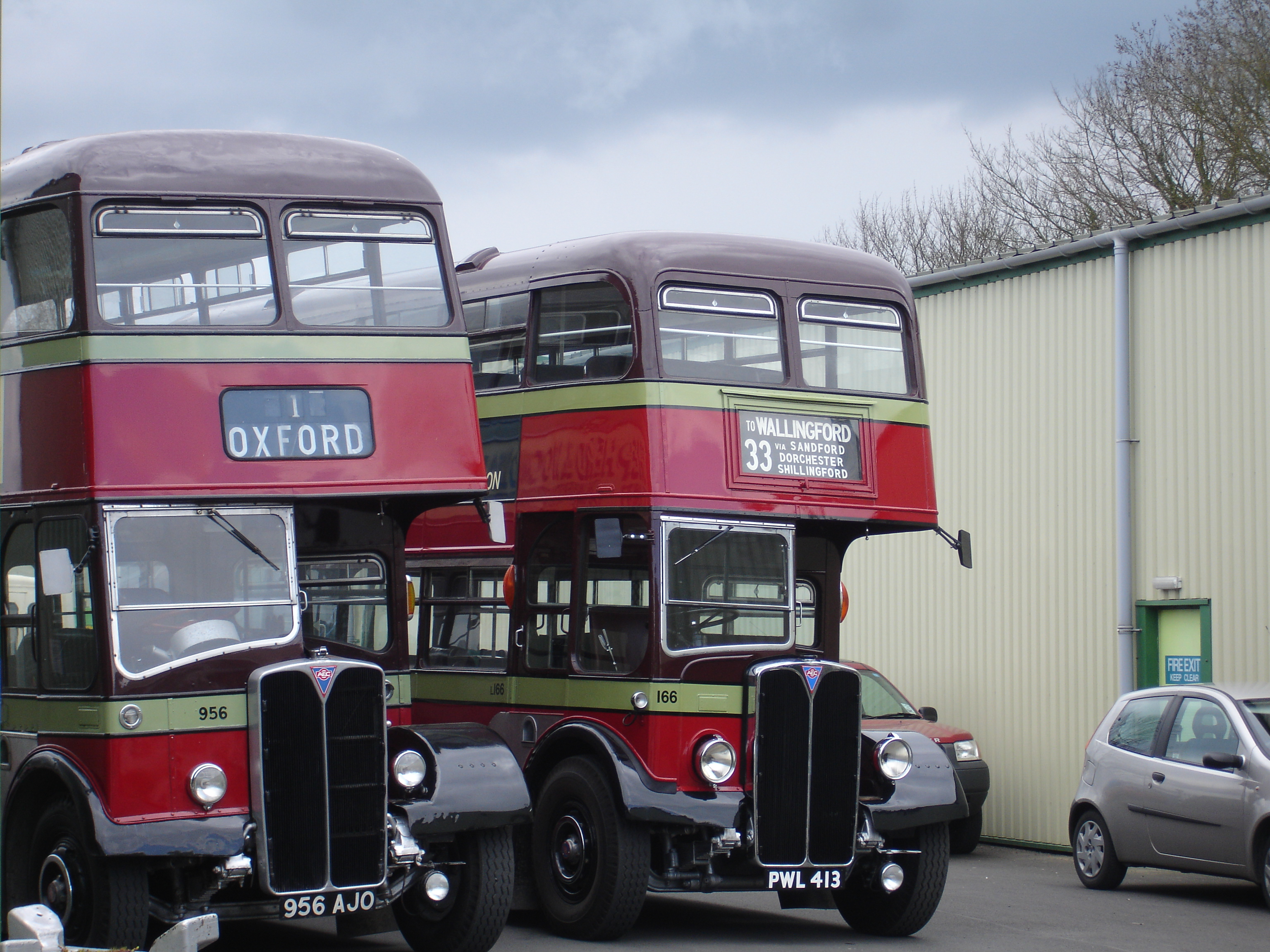 File City Of Oxford Motor Services Aec Regent Iii Rts At The Oxford Bus Wikimedia
