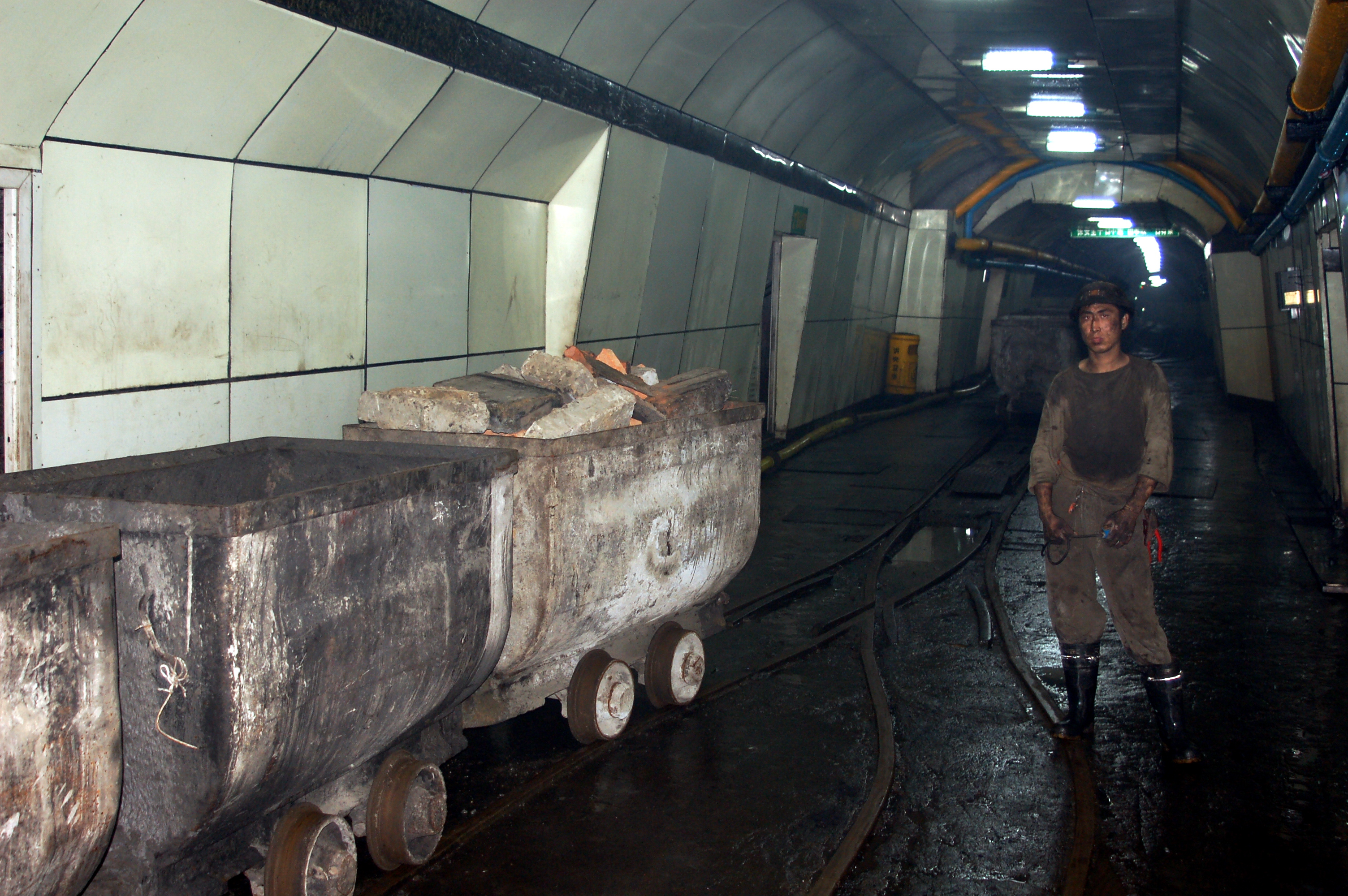 Image result for coal mine china
